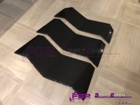 OEM Original Lamborghini Aventador REAL Carbon engine lid wings set glossy finish 476827446F